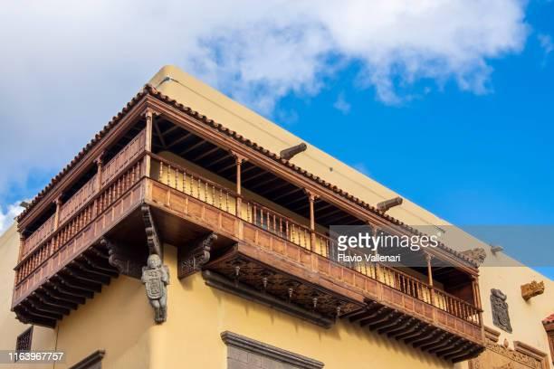 las palmas de gran canaria, casa de colón - casa stock pictures, royalty-free photos & images