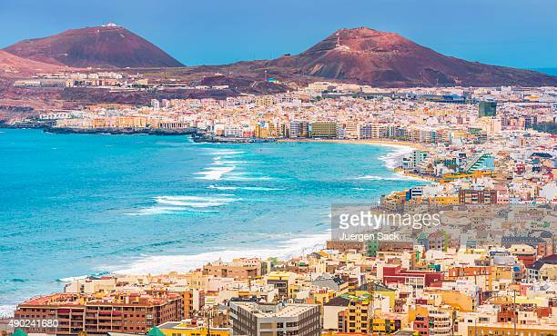 las palmas de gran canaria - grand canary stock pictures, royalty-free photos & images