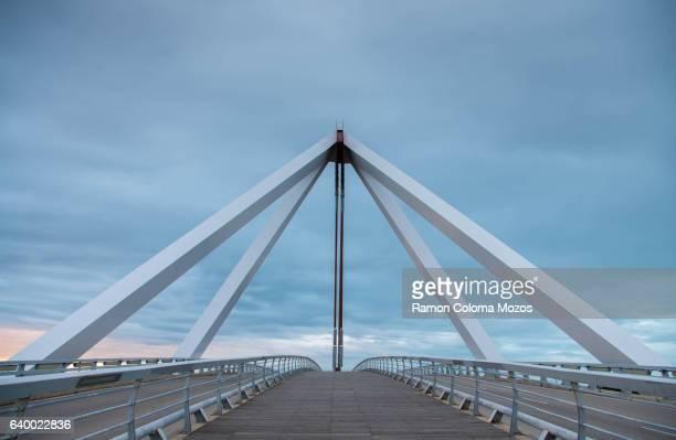 las rozas's bridge - las rozas stock photos and pictures