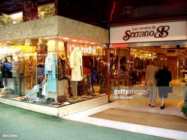 Las tiendas de Serrano 88 shopping center