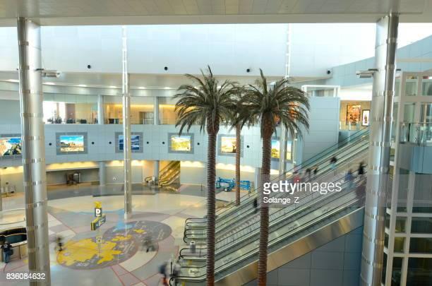 las vegas airport terminal - mccarran international airport stock photos and pictures