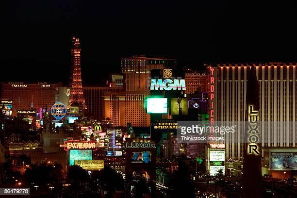 Las Vegas at night