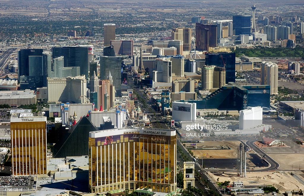 Las Vegas Boulevard Also Known As The Strip Including Mandalay Bay Luxor Mgm Grand Other Hotels And S That Are Part Of