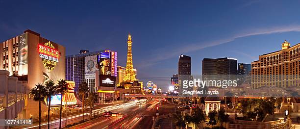las vegas boulevard, central - las vegas stock pictures, royalty-free photos & images