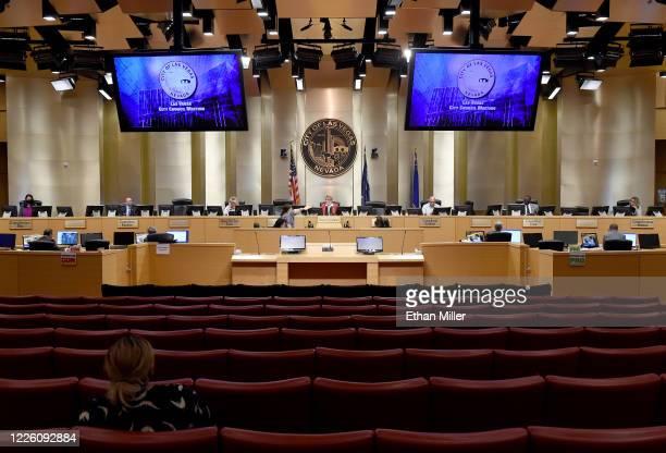 Las Vegas City Councilwoman Olivia Diaz Las Vegas City Councilman Brian Knudsen Las Vegas City Councilwoman and Mayor Pro Tem Michele Fiore Las Vegas...