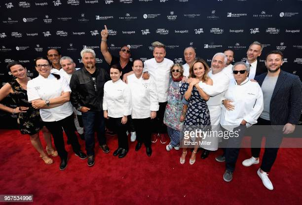 Las Vegas Convention and Visitors Authority Chief Marketing Officer Cathy Tull Gordon Ramsay's US restaurants executive chef Christina Wilson Rao's...