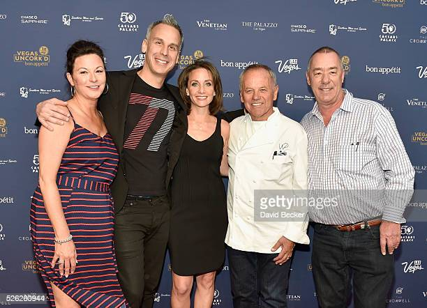 Las Vegas Convention and Visitors Authority Senior Vice President of Marketing Cathy Tull Bon Appetit magazine EditorinChief Adam Rapoport Vice...