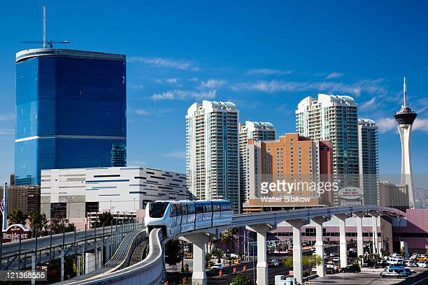 las vegas convention center - monorail stock pictures, royalty-free photos & images