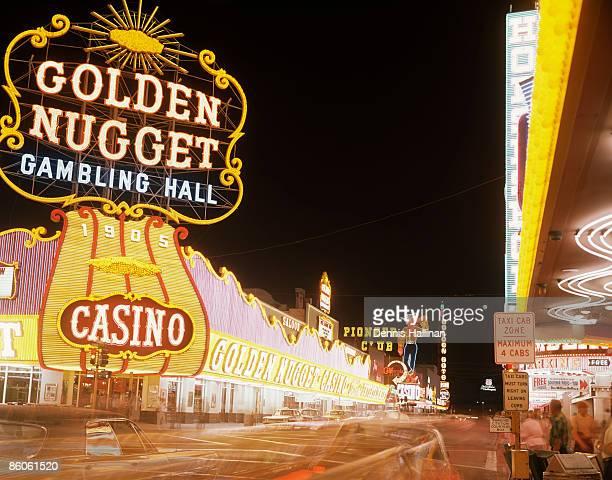 Las Vegas lights at night , Nevada