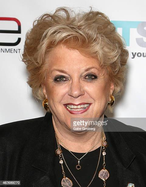 Las Vegas Mayor Carolyn Goodman arrives at ENTSpeaks at the Inspire Theatre on February 2 2015 in Las Vegas Nevada