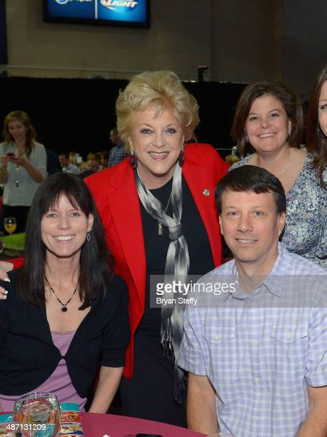 Las Vegas Mayor Carolyn Goodman attends The Animal Foundation's 11th annual 'Best in Show' a benefit for the animal shelter at Orleans Arena on April...