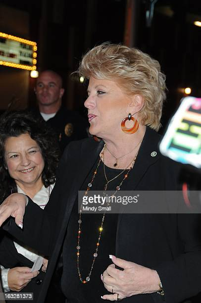 Las Vegas Mayor Carolyn Goodman attends the Fremont Country Club opening with Louis Prima Jr and The Witnesses at Fremont Country Club on March 6...