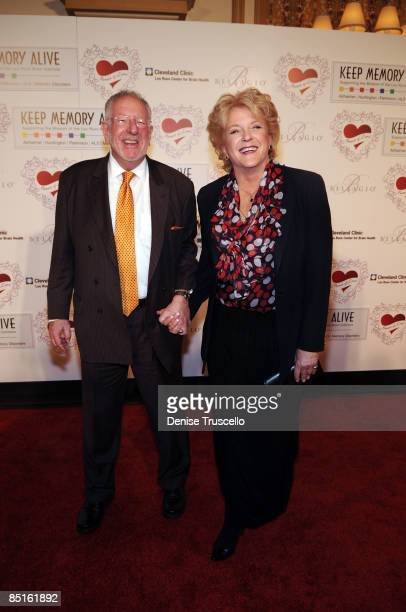 Las Vegas Mayor Oscar Goodman and his wife Carolyn Goodman arrives at the 13th Annual Keep Memory Alive gala to benefit Lou Ruzo Center for Brain...