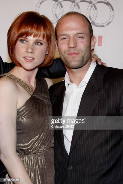 Las Vegas Natalya Rudakova and Jason Statham at the World Premiere of Transporter 3 Las Vegas Nevada United States Christian Jentz/Gamma/Gamma Rapho