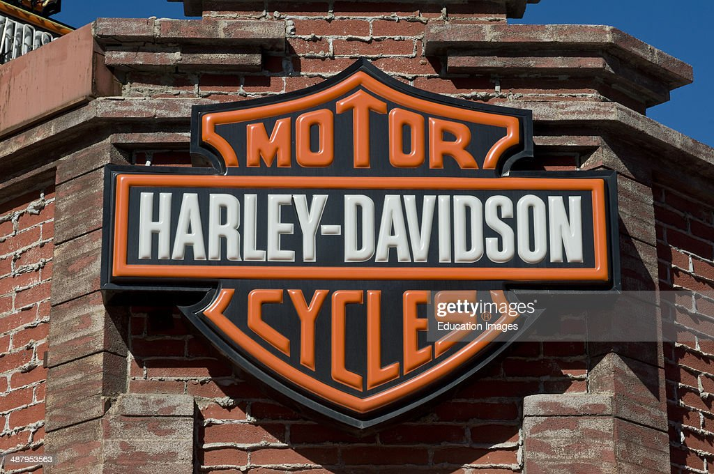 Las Vegas Nevada Harley Davidson Store In Downtown Vegas Pictures