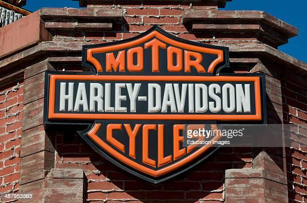 Las Vegas Nevada Harley Davidson store in downtown Vegas
