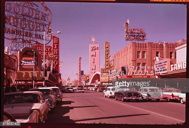 Las Vegas Nevada Street scene in Las Vegas