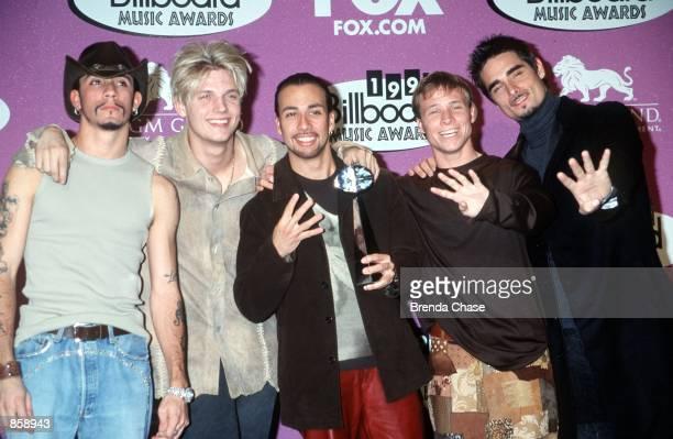 Las Vegas NV Backstreet Boys at the 1999 Billboard Music Awards Photo by Brenda Chase Online USA Inc