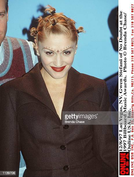 Las Vegas NV Gwen Stefani of No Doubt at the 1997 Billboard Music Awards