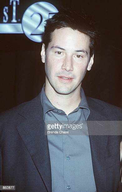 Las Vegas NV Keanu Reeves at the ShoWest ''99 Convention