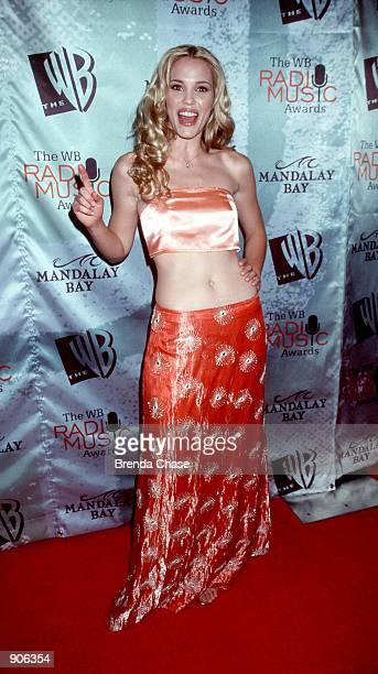 Las Vegas NV Leslie Bibb at The WB Radio Music Awards held at the Mandalay Bay Resort Casino Photo by Brenda Chase Online USA Inc