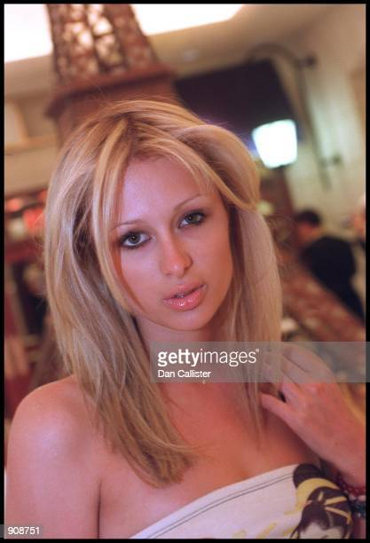09/01/99 Las Vegas Paris Hilton at the opening of the Paris Hotel in Las Vegas owned by her grandfather Barron Hilton Pictuer by DAN CALLISTER Online...