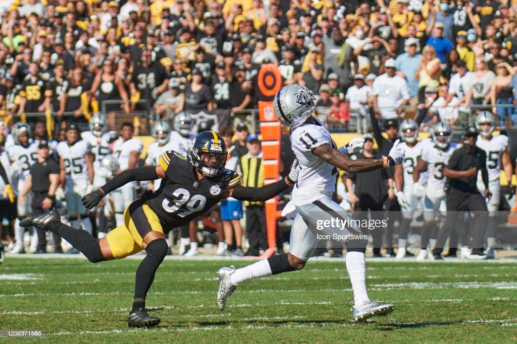 NFL: SEP 19 Raiders at Steelers : News Photo