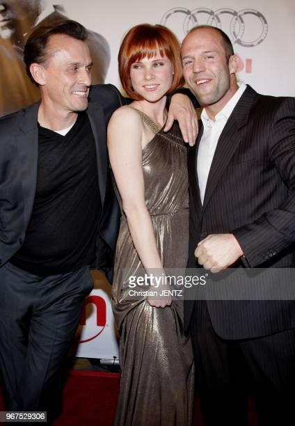Las Vegas Robert Knepper Natalya Rudakova and Jason Statham at the World Premiere of Transporter 3 Las Vegas Nevada United States Christian...