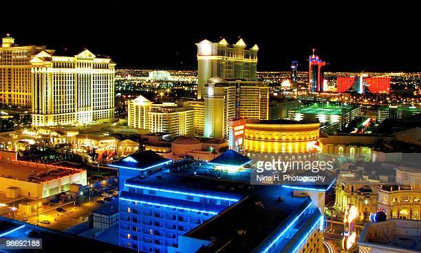 Las Vegas skyline at night - Nevada