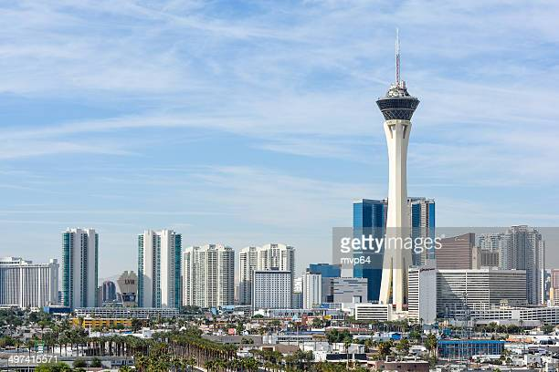 las vegas skyline - day stock pictures, royalty-free photos & images