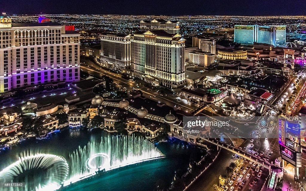 Las Vegas Strip at Night : Stock Photo