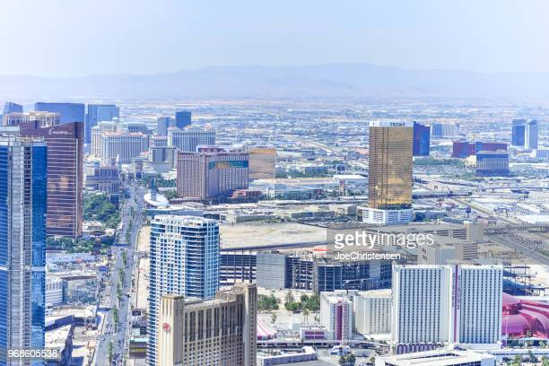 Las Vegas Strip from High Viewpoint