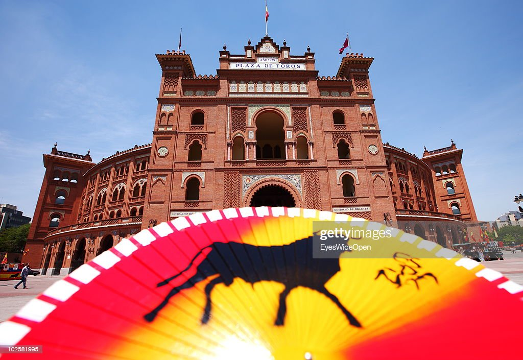 Las Ventas bullfight stadium at Plaza de Toros in the heart of Madrid on May 24, 2010 in Madrid, Spain. Madrid is a big European city with more than 3 million inhabitants.