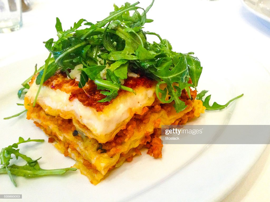 Lasagna : Stock Photo