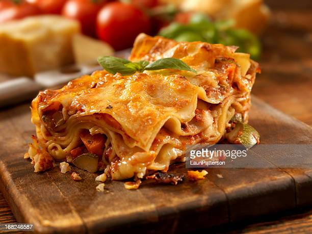 lasagna primavera - lasagna stock pictures, royalty-free photos & images