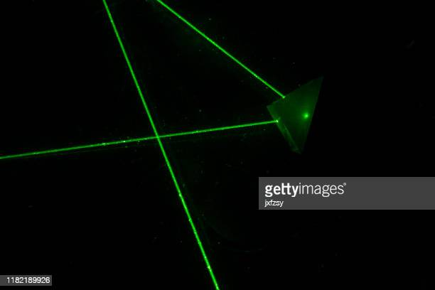 laser go through prism dark