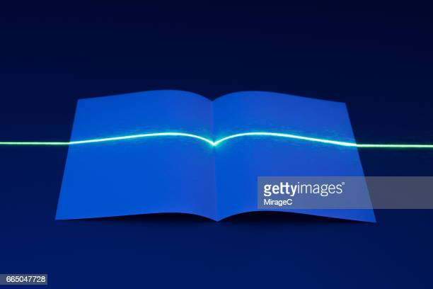laser light scanning abstract paper - colour manipulation stock pictures, royalty-free photos & images