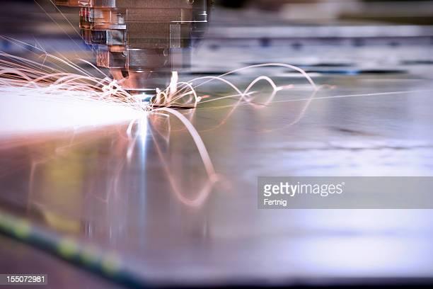 CNC, laser metal-cutting manufacturing tool