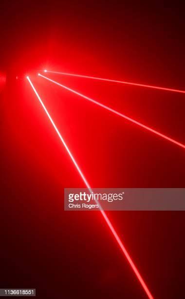 laser orbs - laser stockfoto's en -beelden