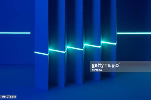 Laser Scanning Zigzag Shaped Paper
