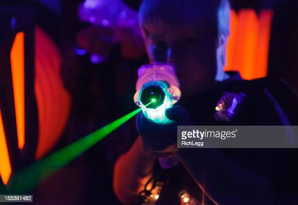 laser tag - arcade stock photos and pictures