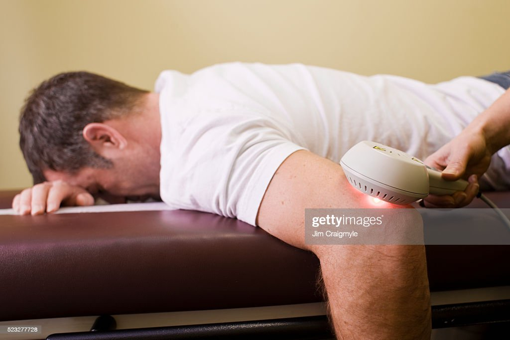 Laser therapy : Stock Photo