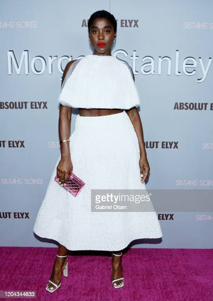 Lashana Lynch attends Alfre Woodard's 11th Annual Sistahs' Soirée at The Private Residence of Jonas Tahlin CEO of Absolut Elyx on February 05 2020 in...