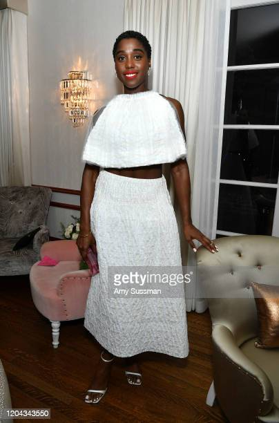 Lashana Lynch attends Alfre Woodard's 11th Annual Sistahs' Soirée Presented by Morgan Stanley With Absolut Elyx on February 05, 2020 in Los Angeles,...