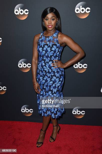 Lashana Lynch attends the 2017 ABC Upfront on May 16 2017 in New York City