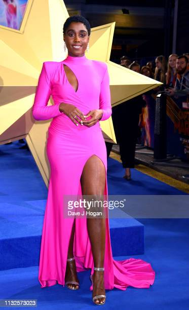 Lashana Lynch attends the Captain Marvel European Gala held at The Curzon Mayfair on February 27 2019 in London England