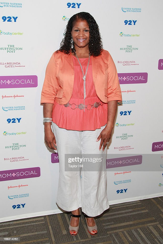 LaShaun Martin of Mocha Moms attends the Mom + Social Event at the 92Y Tribeca on May 8, 2013 in New York City.