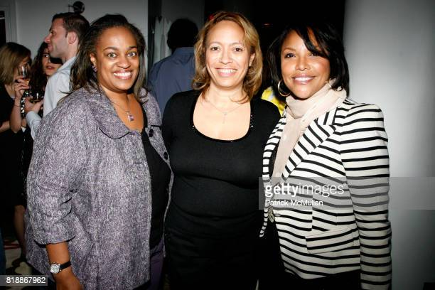 Lashawn Talley Nancy Armand and Lynn Whitfield attend TABLET 10 MAGAZINE Launch at Crosby Hotel on April 15 2010 in New York