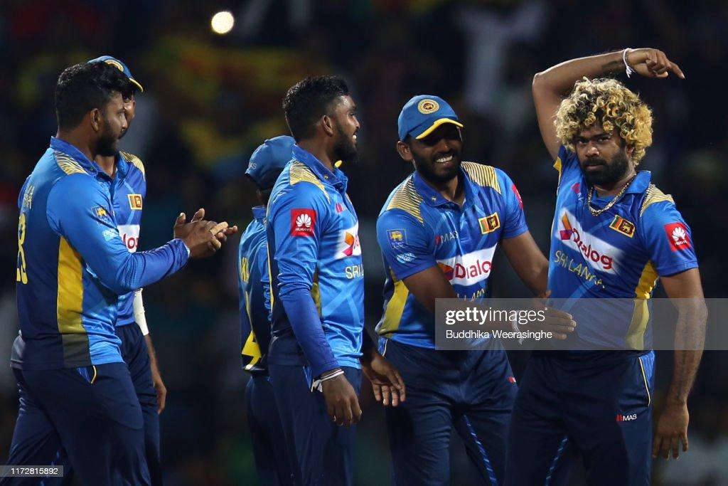 New Zealand v Sri Lanka - 3rd T20 : Foto jornalística