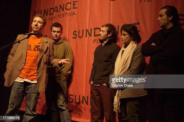 JJ Lask director Eddie Kaye Thomas Aaron Ruell Eleanor Hutchins and Kevin Corrigan
